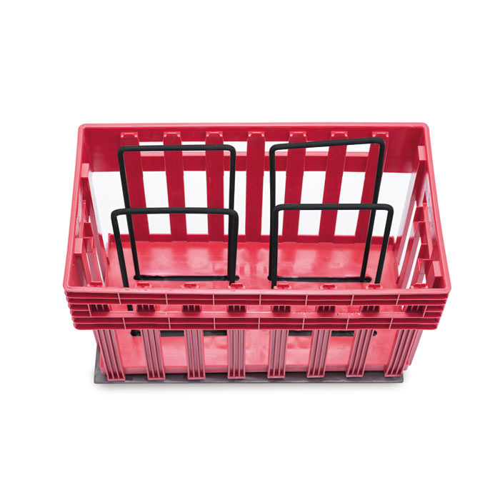 Empty platform Eggs T for plastic egg crates Ovobox
