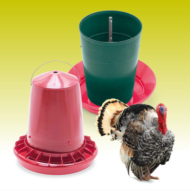 Poultry plastic feeders